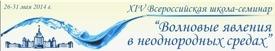 Всероссийская школа-семинар Воолновые Яявления в Неоднородных Средах
